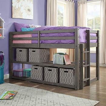 Better Homes and Gardens Loft Storage Bed with Spacious
