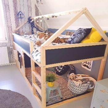 Excellent Photographs Ikea kura  Concepts   An Ikea youngsters' room remains to intrigue the chil