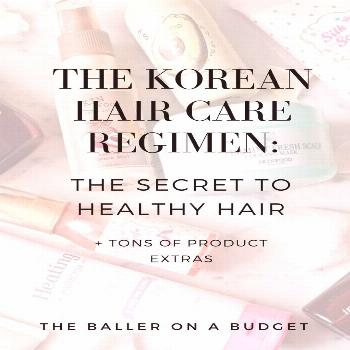 Expensive salon shampoos and conditioners are not the solution for everyone. The 10-step Korean hai