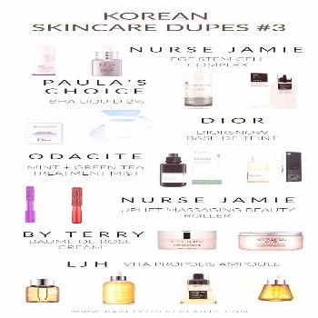 KOREAN SKINCARE DUPES FOR HIGH END FAVOURITES | Barely There Beauty - A Lifestyle Blog from the Hom