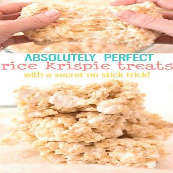 This truly is The BEST Rice Krispie Treat Recipe out there! All done easily and quickly in the micr
